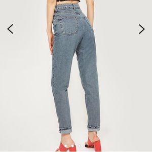 MOTO Mom High Waisted Jeans from TOPSHOP